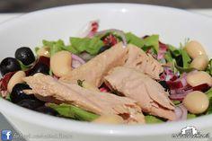 Insalata Contadina (radicchio, tonno, cipolla, fagioli, olive) #casinadelbosco#salad #italianfood Seguici: www.facebook.com/casinadelbosco