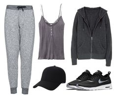 """Feeling Devastated"" by marsophie ❤ liked on Polyvore featuring NIKE, Victoria's Secret, Topshop and Keds"