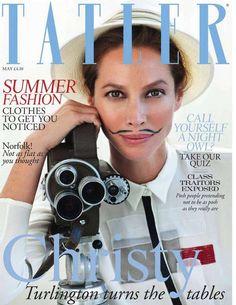 Christy Turlington Covers the Tatler Magazine UK May 2012 Issue #fashion