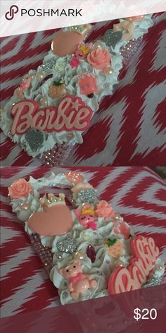3D Frosting LG G3/4 Bling Cabochon Case 3D Whipped Cream Cabochon Kawaii Bling LG G3/4 Hard Case  Super cute embellishments. Be one of a kind with this phone case. Whipped Cream.Pearls.Bears.Bling.Love.Shine.Random.Flowers. Food.Lips.Rare.  Lavish design. One of a Kind!!  Handmade from durable high quality plastic materials, luxury crystal rhinestone and durable glue.  Won't fall off with proper care!  Colors same as photo  CHECK OUT THE OTHER SPARKLY THINGS IN MY SHOP NO INTERNATIONAL…