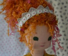 Fancy Nancy Handmade Doll jointed posable made by PhoebeandEgg, $255.00