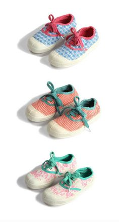 Cute Kid's Shoes bakker made with love x bensimon