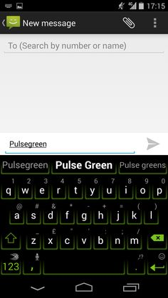 Pulse Green, available on the SwiftKey Store on Android.