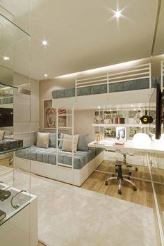 MAC_Otacílio : Quartos clássicos por Claudia Albertini & Chris Silveira Arquitetos