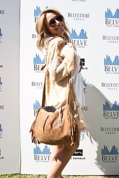 Coachella cuties Haylie Duff and Joy Bryant at Belvedere Music Lounge