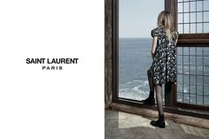 Cara Delevingne in the Saint Laurent Fall 2013 campaign cc: @Yves Bonis Saint Laurent
