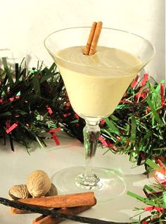 Who knew homemade egg nog was so easy?  It is so much better than store bought!