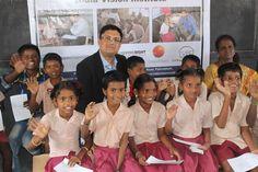 CooperVision Supports Vision Screening For Underprivileged School Children #CooperVision #SchoolChildren