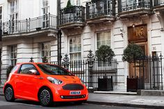 Now then, would you really class this as an Aston Martin when it is based on a Toyota IQ?, the interior finish in these cars is stunning, but externally it still screams IQ!