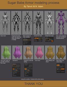 Sugar Babe Clay Render and making of by Tanvir M.N Islam | Fantasy | 3D | CGSociety