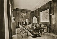 Dinning Room designed by Jacques Emile Ruhlmann