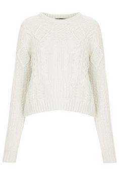 Shrunken Cable Sweater