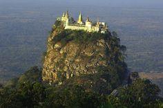 Chrám Taung Kalat, Mjanmarsko