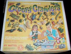 Creepy Crawlers ... ALWAYS wanted this but never got one ...