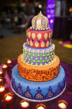 moroccan wedding cakes | Moroccan Middle Eastern Theme Bat Mitzvah Party | Mazelmoments.com