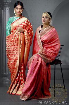 Modern Indian Sarees Click Visit link above for more options Banarsi Saree, Silk Sarees, Bengali Bride, Pakistani Wedding Outfits, Desi Wear, Classic Elegance, Bridal Lehenga, Indian Sarees, Indian Dresses