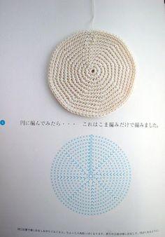 Simple circle crochet pattern