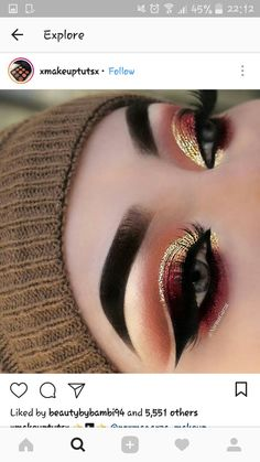 This make-up trend is the easiest way to update your look. Excellent idea for eye make-up # Makeup Trends, Eye Makeup Tips, Makeup Goals, Skin Makeup, Eyeshadow Makeup, Makeup Inspo, Eyeliner, Makeup Ideas, Eyeshadows