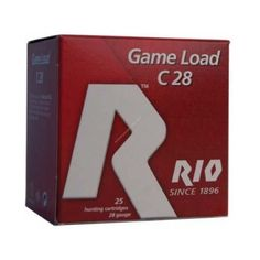 """Rio 2 ¾ """" Heavy Field 28 Gauge shotgun ammunition is a sub-guage game load designed with small game hunters in mind."""