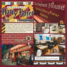 I'm so excited to be bringing yet another magical collection to you from Project Mouse. Krista and I have been up to no . Diagon Alley, Universal Studios, Hogwarts, Harry Potter, Elephant, Scrapbook, Projects, Blog, Inspiration