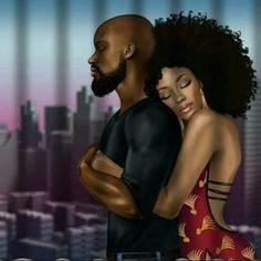 One if these days black couple art, black love couples, art love couple, Black Couple Art, Black Love Couples, Art Love Couple, Sexy Black Art, Black Girl Art, Art Girl, Black Girl Magic, Couple Noir, Image Couple