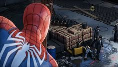 Insomniac Iron Removes QTE Spider-Man PS4 Spider-Man