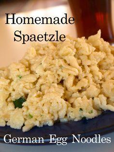 How to Make Spaetzle | German Egg Noodles