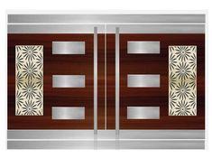 House Main Door Design, Gate Wall Design, Steel Gate Design, Front Gate Design, Main Gate Design, Stainless Steel Gate, Pvc Wall Panels, Cupboard Design, Front Elevation