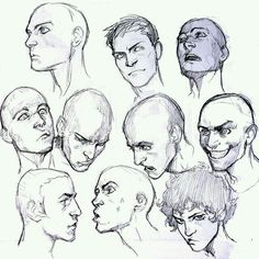 Make expressions, head turns