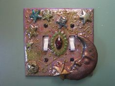 OOAK handcrafted decorative mystical fantasy by TwicePossessed