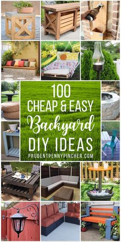 backyard diy projects Spruce up your backyard on a budget with these cheap and easy DIY backyard ideas. From patio ideas to landscaping ideas, there are plenty of DIY projects to choose from that are guaranteed to work for big and small yards. Garden Ideas Budget Backyard, Budget Patio, Small Backyard Pools, Diy Garden, Diy Landscaping Ideas, Cheap Backyard Makeover Ideas, Garden Paths, Wooden Garden, Easy Patio Ideas