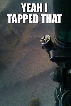 I tapped that. HAAHAA