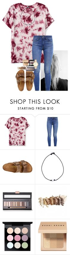 """RTD!"" by amaya-leigh ❤ liked on Polyvore featuring Aéropostale, Levi's, Birkenstock, MAC Cosmetics, Bobbi Brown Cosmetics and Kate Spade"