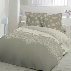 Leona - Cotton SATEEN Bed Linen Set (Duvet Cover & Pillow Cases)