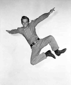 """Gideon Pontipee, in film, """"Seven Brides for Seven Brothers"""". Looks like Russ Tamblyn to me! Movie Reels, Movie Tv, Old Movies, Great Movies, Classic Hollywood, Old Hollywood, Hollywood Style, Russ Tamblyn, Dance Dreams"""