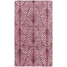 Handmade Javier Purple Rug (2'11 x 5'3) - Overstock™ Shopping - Great Deals on 3x5 - 4x6 Rugs