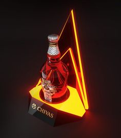 CHIVAS glorifier display by Dmitry Gelishvili, via Behance