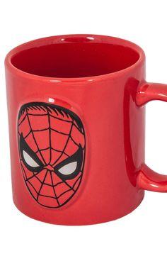 Embossed Spider-Man Mug