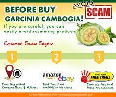 Common Signs of Garcinia Cambogia Scam