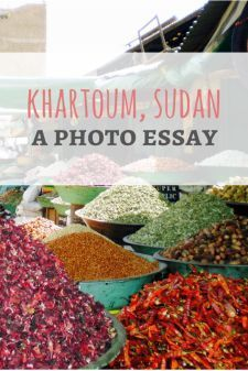 A photo essay of Khartoum, Sudan from Passport & Plates Blog!