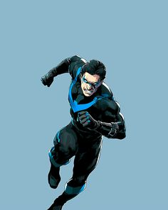 Nightwing on the Cover of the Issue #4 Variant - Ivan Reis
