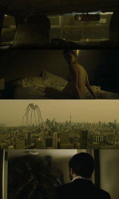 Enemy (2013) | Dir: Denis Villeneuve Cinematic Photography, Film Photography, Denis Villeneuve, Film Story, Movie Screenshots, Light Film, Best Cinematography, Movie Shots, Film Images