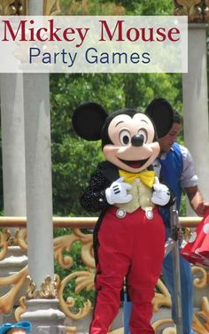 Celebrate your favorite mouse with these fun Mickey Mouse Party Games for Kids