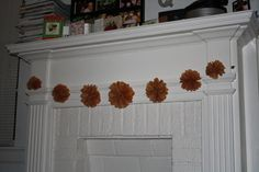 diy tissue paper garland {great party decorations}