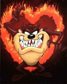taz and sayings yahoo image search Looney Tunes Characters, Classic Cartoon Characters, Looney Tunes Cartoons, Favorite Cartoon Character, Classic Cartoons, Funny Cartoons, Taz Tattoo, Devil Tattoo, Cartoon Kunst