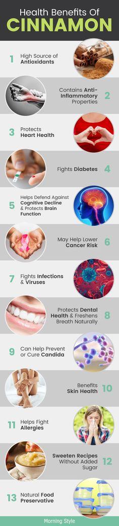 Health Benefits of Cinnamon #cinnamon #naturalremedies