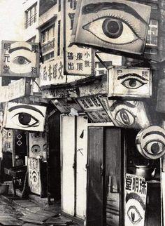 Yanaizu Aoyama ophthalmology taken by Photographer Wang Shuangqua / king bi-all (Tainan, 1962.)