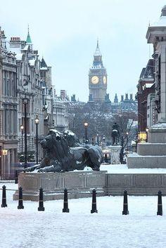Trafalgar Square - City of Westminster, London, England Trafalgar Square, Sightseeing London, London Travel, London England, England Uk, Places To Travel, Places To See, Places Around The World, Around The Worlds