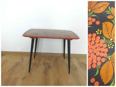 SALE! Vintage wood Coffee Table. Mid Century Side Table. End table from 1960s