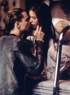 Claire Danes and Leonardo DiCaprio in William Shakespeare's Romeo + Juliet (1996)